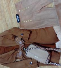 Kaput pantalone i torbica povoljno