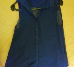 H&M plava kosulja 36