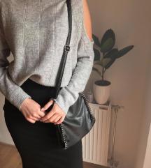 Siva rolka-džemper
