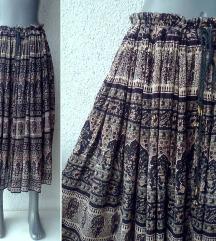 suknja široka za leto proleće broj 40 do 46