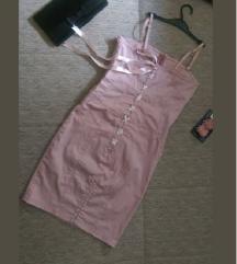 Puder roze haljina