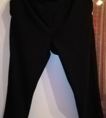 NOVO!  Baggy crne pantalone 7/8 XL