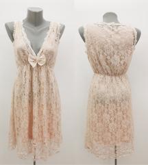 LOU LOU LONDON haljina,čipka NOVO