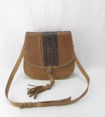 Vintage prirodna kroko koza rucni rad