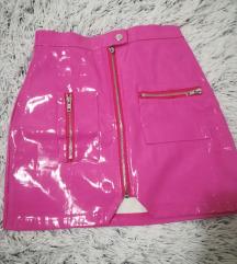 Pink roze suknja