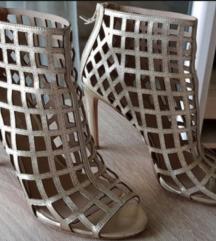 Nova nude staro zlato boja sandale