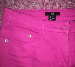 Pink pantalonice/farmerke H&M 36/38