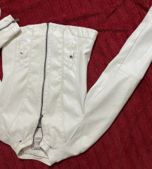 Kozna jakna za devojcice 158-164