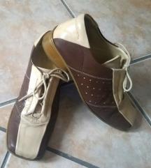 Vintage classic kožne cipele Laura Ferrari