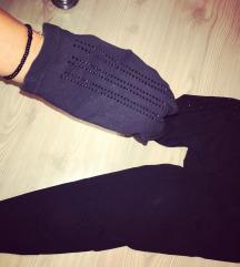 Adidas crne helanke original