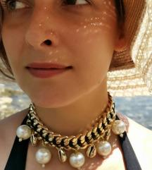 Choker ogrlica sa školjkama