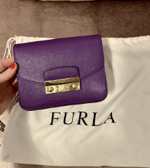 Furla Metropolis Mini Purple Saffiano