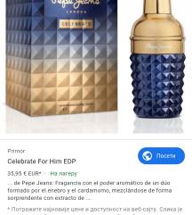 Pepe jeans muski parfem -celebrate
