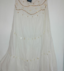Indijska bela suknja