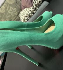 Bershka zelene cipele