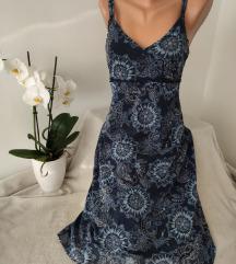 Midi haljina na bretele vel M