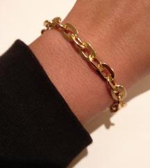 Narukvica zlatni lanac