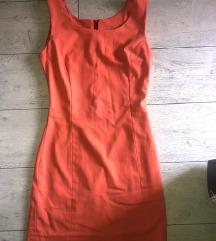 Narandzasta letnja haljina S