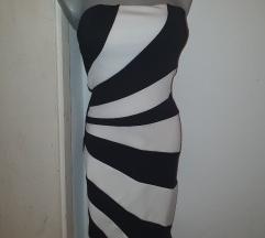 Zebra haljina kratka,nova vel 36