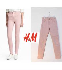 H&M high waist pantalone farmerke M 38