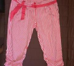 Crveno bele kratke pantalone