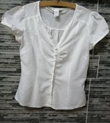 Bela ženska košuljica od indijskog platna