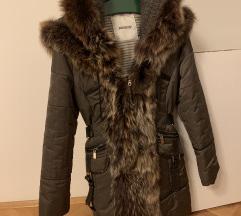 Zimski kaput sa prirodnim krznom