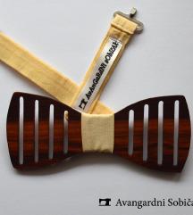 Drvena leptir mašna