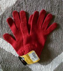 Tamno crvene rukavice / NOVO sa etiketom