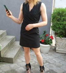 Sesley crna haljina xs/S. AKCIJA 2000!!!