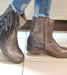 Metalik čizme, NOVO 37
