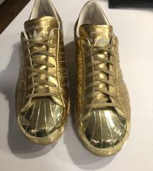 SUPERSTAR adidas GOLD metal
