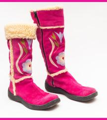 Ciklama čizme od antilopa 39