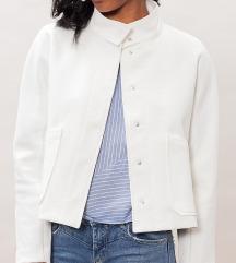 Stradivarius bela jakna / sako  S
