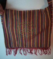 Nova hippie šarena torba sa peace znakom