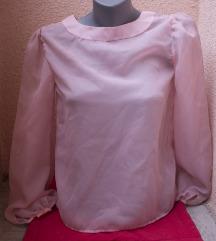 VINTAGE roze 1960s bluza 40/L unikat