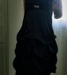 Crna balon haljina SNIZENA