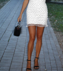 H&M haljina sa tufnicama