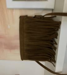 NewYorker braon torba na rese, skoro nova