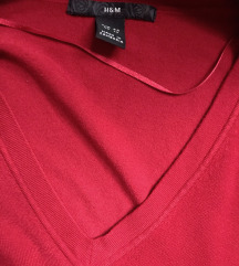 H&M crveni dzemper