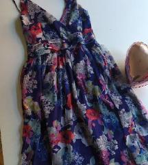 Cvetna haljina, letnja i leprsava  rasprodaja