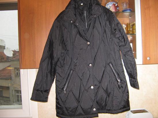 Crna velika jakna Br.50-NOVA
