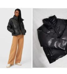 •••STRADIVARIUS puffer kozna jakna••• SADA 4690!!!