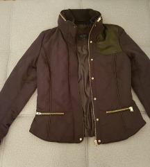 Zara jakna za prelazni period teget