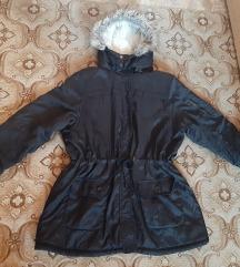 Crna zimska jakna vel. 50