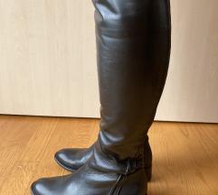 Shoestar Crne Kozne Cizme 💕SALE💕