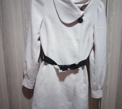 Mantil H&M krem boje