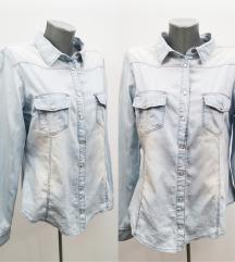 DENIM&CO teksas košulja L-XL