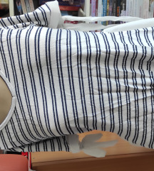Teget bela bluza