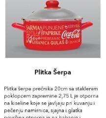 Coca-Cola nova plitka šerpa